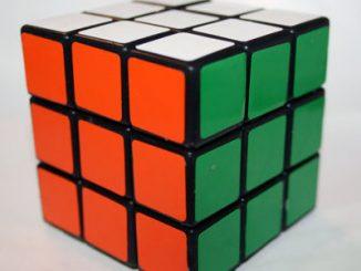 Rubik's Cube Soap