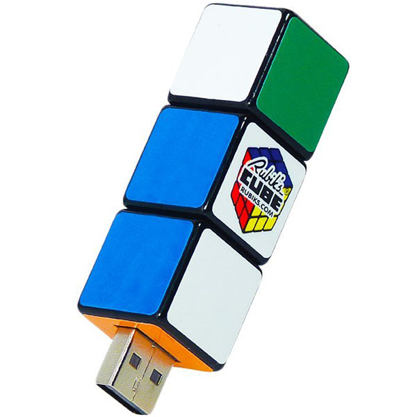 Rubik's Cube USB Rotating Key Flash Drive