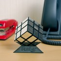 Rubik's Mirror Blocks Cube with Stand