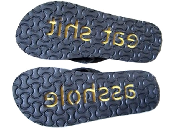 Rude Printing Sandals
