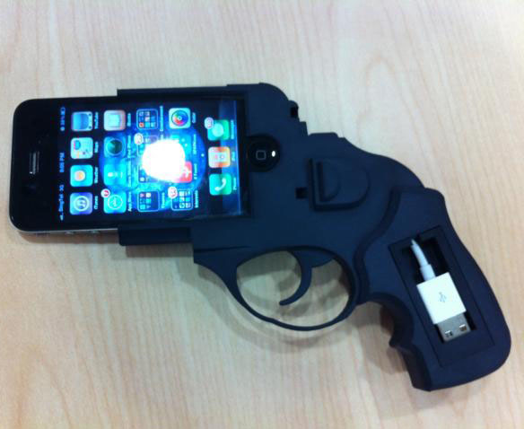 Ruger Revolver iPhone 4 Dock