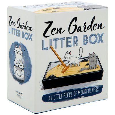 Running Press Zen Garden Kitty Litter Box
