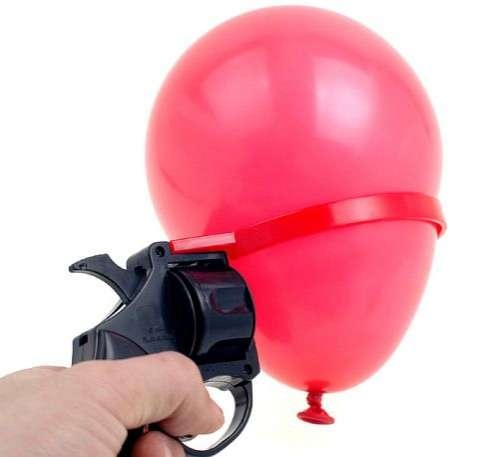 Russian Roulette Water Balloon Game