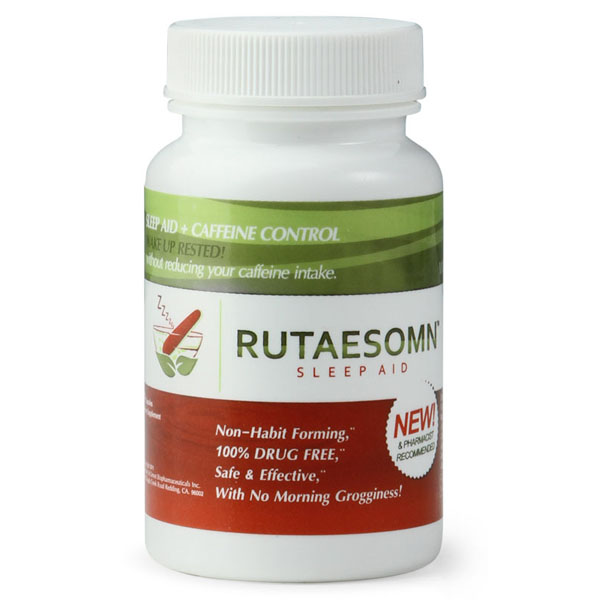 Rutaesomn De-Caffeinating Chill Pills