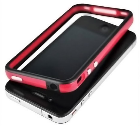 SANOXY Red and Black Premium Bumper Case