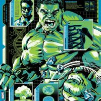 SHIELD Files Hulk Art Print