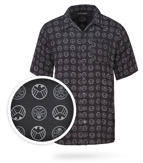 SHIELD Hawaiian Shirt