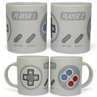 SNES Controller Themed Mugs