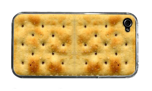 Saltine Cracker iPhone 4 or 4S Custom Case