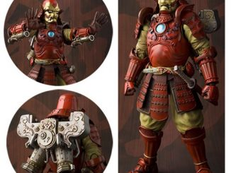 Samurai Iron Man Mark 3 Meisho Manga Realization Action Figure