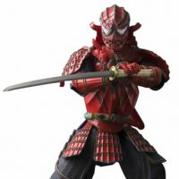 Samurai Spider-Man Meisho Manga Realization Action Figure small