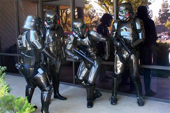 San Diego Composites Carbon Fiber Stormtroopers