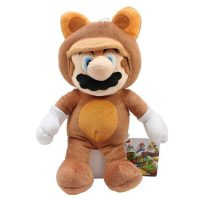 Sanei Officially Licensed Super Tanooki Mario Plush