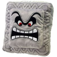 Sanei Super Mario Plush Cushion Series: Thwomp/Dossun