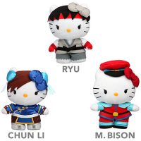 Sanrio Street Fighter Plush Toys
