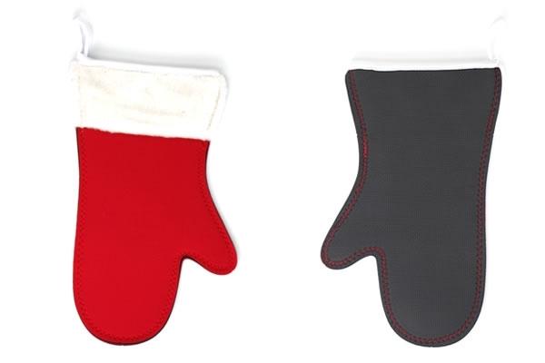 Santa's Glove Christmas Oven Mitt