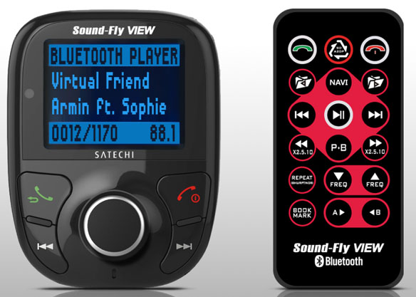 Satechi Soundfly View Bluetooth FM Transmitter