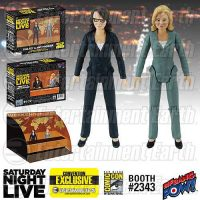 Saturday Night Live Weekend Update Amy Poehler Tina Fey 3 1 2-Inch Action Figures