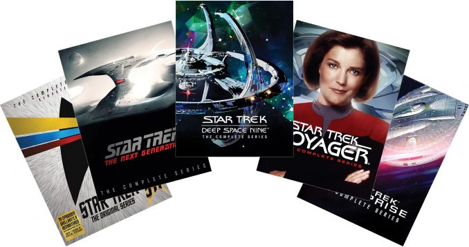 Save Over 50% Off Star Trek TV Series on DVD