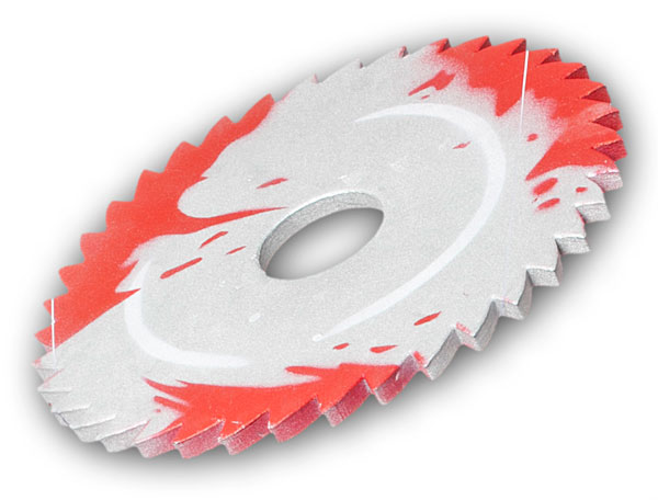 Sawblade Throwing Disc