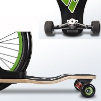Sbyke P-20 Scooter Skateboard Hybrid