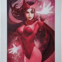 Scarlet Witch Premium Art Print