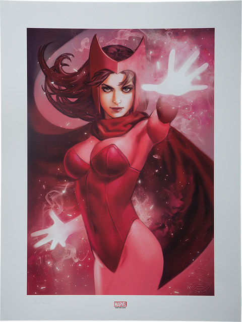 Scarlet Witch Premium Art Print