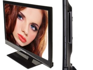 Sceptre 24 Inch LED HDTV Built In DVD Player
