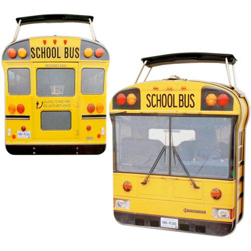 School Bus Sandwich Lunch Box