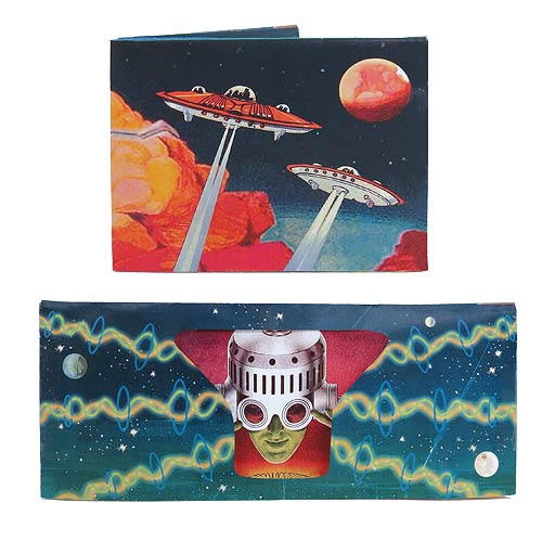 Science Fiction Wallet with Sound