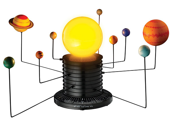 Scientifically Accurate (or thereabouts) Motorized Solar System