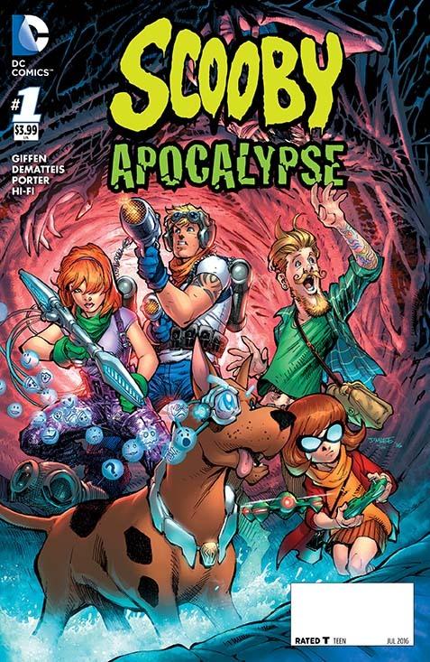 Dc Comics Scooby Apocalypse 1