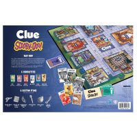 Scooby Doo Clue Board Game Box Back