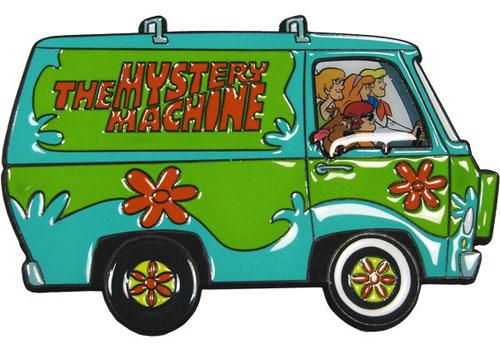 Scooby Doo Mystery Machine Belt Buckle