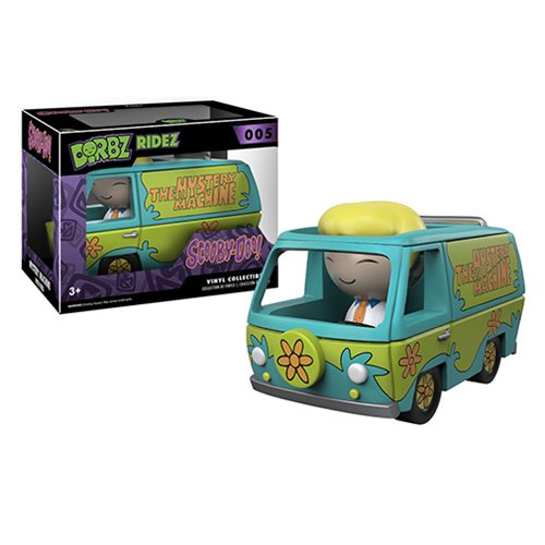 scooby doo mystery machine with figures