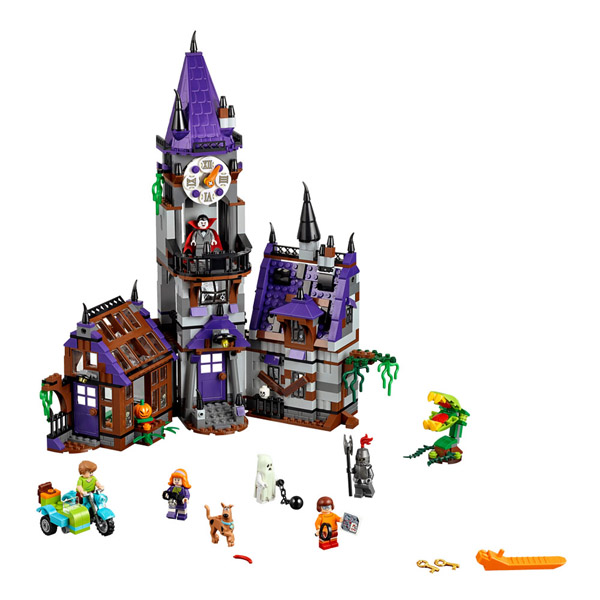 Scooby Doo Mystery Mansion LEGO Set