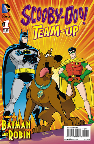 Scooby-Doo Superhero Team-Up Comic Books No 1 with Batman and Robin