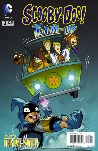 Scooby-Doo Superhero Team-Up Comic Books No 3 with Bat Mite