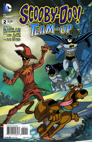 Scooby Doo Team-Up 2 with Batman and Bathound