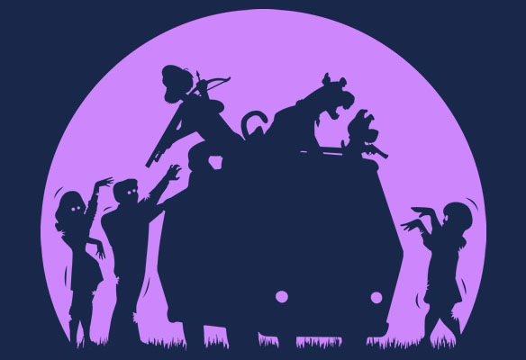 Scooby Doo Zombies Shirt