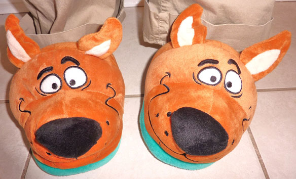 Scooby Slippers