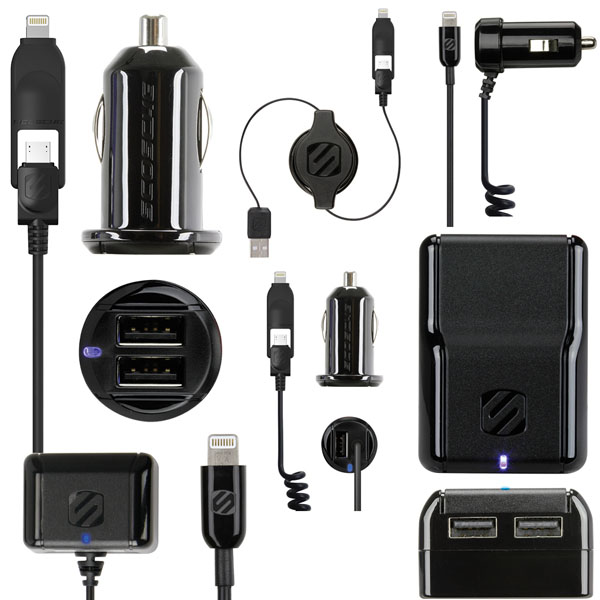 Scosche Lightning Charger Line