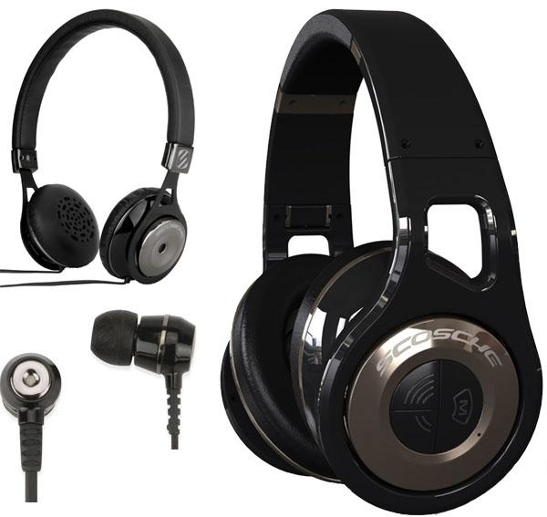 Scosche New REALM Headphones