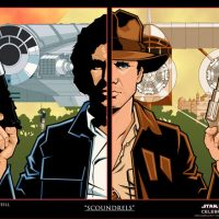 Scoundrels - Star Wars Celebration Art Print