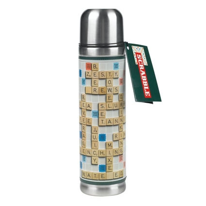 Scrabble Insulated Bottle