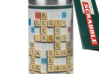 Scrabble Insulated Thermos