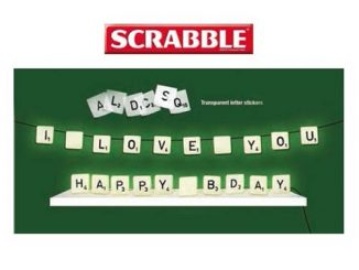 Scrabble Light Set