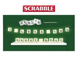 Scrabble Light Set