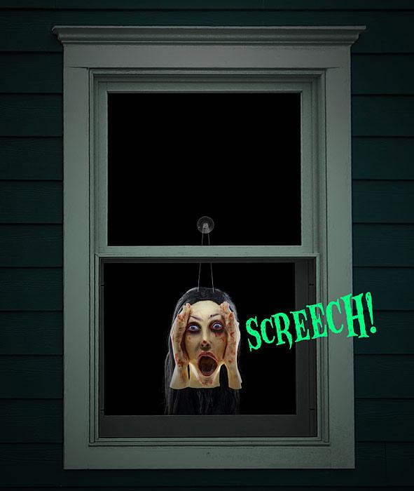 Screaming Banshee Scary Peeper