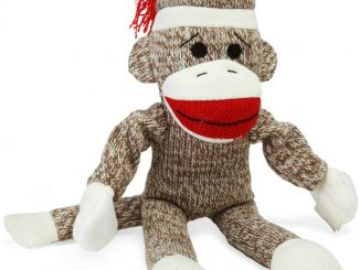 Screaming Flying Sock Monkey